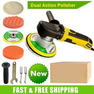 6 Electric Car Polisher Dual Action Polishing Machine Buffer Sander Waxing Tool