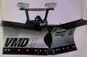 Snowdogg Buyers Products Vmd75ii V Plow 90 Blade Width W Led Light Upgrade