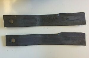 Set Of 2 Rotary Mower Blades For Bush Hog 5 Rotary Cutters 7555 7555bh