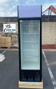 New Commercial One Glass Door Freezer Model D77 single Merchandiser Nsf Etl