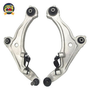2pc Front Lower Control Arm Ball Joint Left Right Kit For 09 14 Nissan Maxima