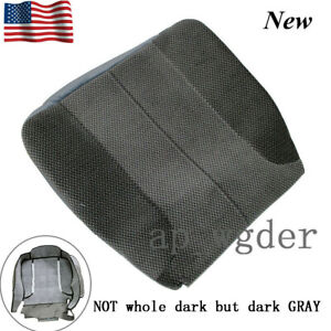 For 2003 2005 Dodge Ram 1500 2500 Slt Driver Side Bottom Cloth Seat Cover Gray