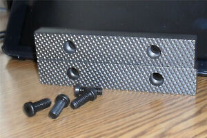 Wilton Vise Jaws Usa Made Heat Treated Bullets 4 1 2 W X 3 4 h 1 2 t