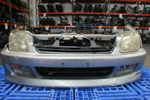 97 01 Honda Prelude Bb8 Sir Type s White Front Nose Cut Conversion Jdm H22a