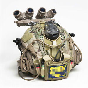 Tactical Helmet Cover Nylon Counterweigh Battery Pouch For FAST Helmet $36.05