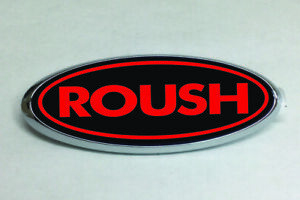 Ford Emblem Roush Style Oval Overlay Badge Vinyl Decal Sticker Any Year Model