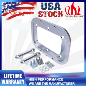 For Optima Battery 34 78 Red Aluminum Relocation Tray Kit Hold Down Mount