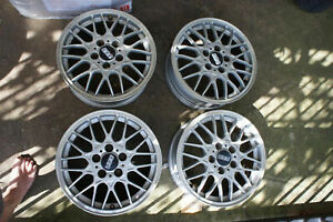 Jdm 16 Bbs Mesh Wheels For Bb6 Dc2 Ek9 Ctr 240sx Civic Integra Dc5 Cl1