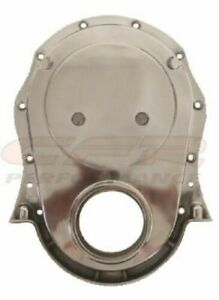 Polished Aluminum Timing Chain Cover For 66 90 Chevy Big Block 396 402 427 454