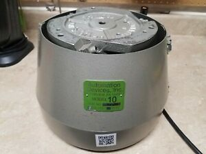 Automation Devices Model 10 Vibratory Feeder With Controller 12 Feeder Bowl