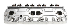 87 95 Edelbrock E Tec Aluminum Engine Cylinder Head For Small Block Chevy 609719