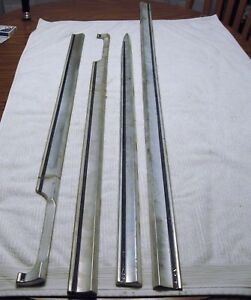 1963 Ford Galaxie 500 Xl Ffour Door Side Molding 4 Pieces