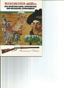 WINCHESTER Western 1976 Sporting Arms Ammunition amp; Reloading Components Catalog $12.00
