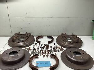 8 8 Ford Explorer Rear Disc Conversion Kit Small Bearing 8 Or 9 3215159