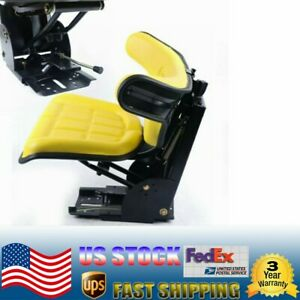 Tractor Suspension Seat Fits For John Deere 1020 1530 2020 2030 2040 2255 Yellow