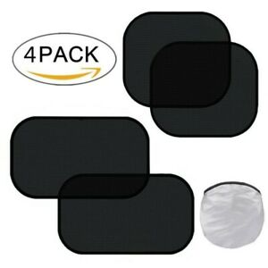 Uv Rays Protection For Your Child Baby Side Window Car Sun Shades 4pcs Pack Us