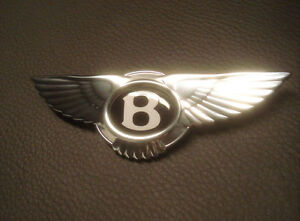 Bentley Logo For Steering Wheel Badge Emblem Characters Airbag
