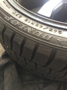 245 40 R18 Dunlop Winter Tires And Rims