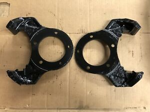 76 79 Ford F 150 Dana 44 Disc Brake Hanger Caliper Brackets 1 Pair
