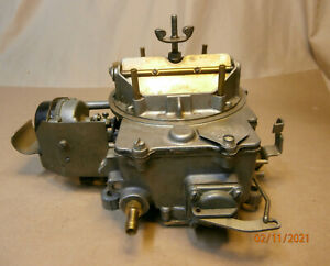 1966 Ford Mustang Fomoco 4100 4bbl Autolite C6zf A Carburetor As is