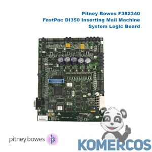 Pitney Bowes F382340 Fastpac Di350 Inserting Mail Machine System Logic Board
