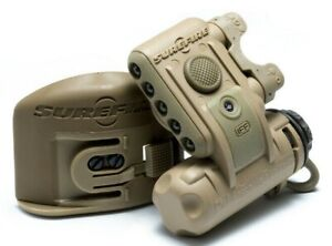 SureFire Tactical Helmet Light HL1 w MICH Mount White Blue Beacon Duty TAN $169.91