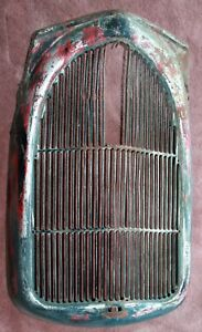 Rare 1936 Ford Pickup Grille Radiator Shell Hard To Find