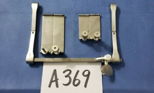 Codman 50 1131 Surgical Orthopedic Spine Scoville Haverfield Retractor W blades