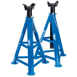 Draper Expert 54722 As6000 Pair Axle Stands 6 Tonne Each Pair 870mm High