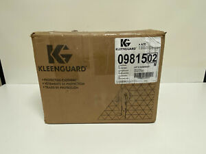 Case Of 12 Kleenguard A70 Chemical Spray Protection Coveralls W Hood 2xl