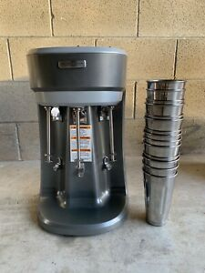 Hamilton Beach Commercial Drink Mixer Model Hmd400 Mixing Cups