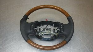 Ford Excursion F250 F350 Superduty Wood Leather Steering Wheel F 250