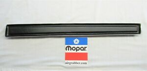 1971 1972 1973 1974 B Body Charger Road Runner Standard Coupe Dash Pad Filler