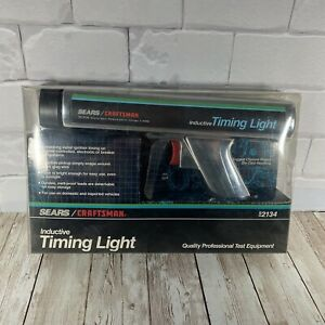 Sears Craftsman Inductive Timing Light Die Cast Chrome 92134 Mint Condition