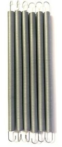 6 Extension Springs Pkg Of 6 Zinc Plated Made In Usa