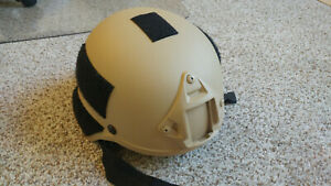 Lancer Tactical replica 2000 helmet Tan modified $13.00
