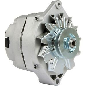 Alternator Tractor 1 Wire 63 Amp 10si W Tach Term Stud On Rear 3 8 In Pulley