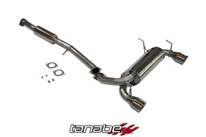 Tanabe Medallion Touring Catback Exhaust For 03 06 350z