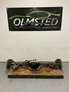 82 02 Camaro Firebird 10 Bolt 7 5 Posi Rear Axle Assembly Disc Brake 3 42 Abs