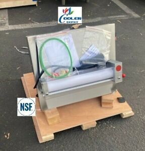 New 12 Pizza Dough Roller Sheeter Noodle Pasta Machine Single Stage Nsf