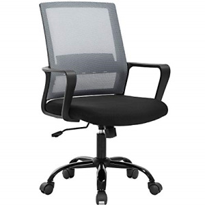 Home Office Chair Ergonomic Desk Chair Swivel Rolling Computer Chair Executive