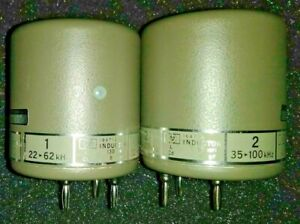 Lot Of 20 Agilent Hp 16471a 16490a Standard Inductor In Protective Case