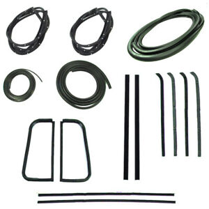 1955 1959 Complete Weatherstrips For Chevrolet Gmc Pickup Trucks Second Series