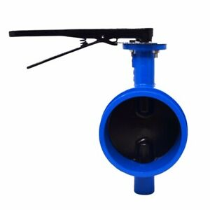 12 Grooved End Butterfly Valve With Buna Encapsulated Disc