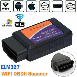 Wi Fi Or Bluetooth Car Obdii Obd2 Diagnostic Scanner Elm327 Iphone Ios Android