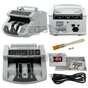 Counting Machine Counterfeit Money Bill Counter Detector Uv Mg Cash For Bank