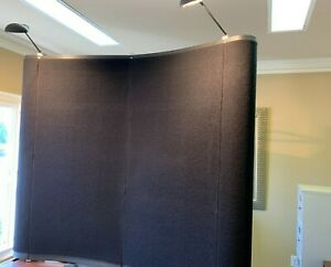 6x5 Table Top Trade Show Booth With Lights And Hard Shipping Case