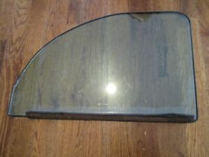 Original 1937 1938 Ford Deluxe Driver Side Window Original Ford Glass 2