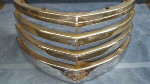 1941 1942 1946 Chevy Pickup Truck Chrome Upper Grille Oem Original