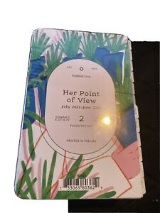Franklin Covey Compact Her Point Of View Daily Ring bound Planner Jul 21 jun 22